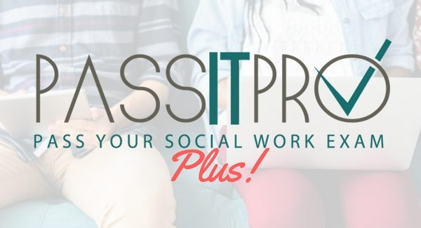 Passitpro Plus Plan ($245): Social Work License Exam Course and Tutoring